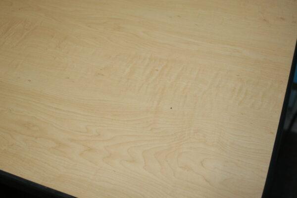 Maple Desktop, Silhouette, Sit-Stand, Desk,